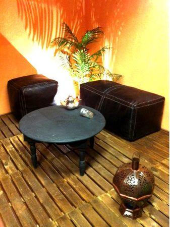 Orient Leather Seat Cushion Rabat - 40cm – image 4