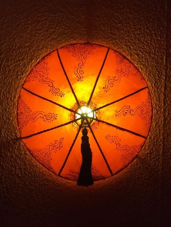 Ceiling Henna Lamp Dilay Orange – image 4