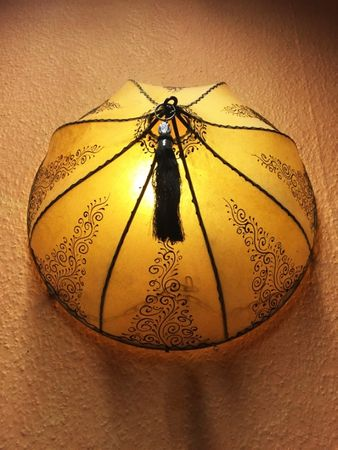 Oriental Wall Lamp Dilay Natur – image 2