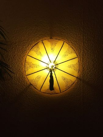 Oriental Wall Lamp Dilay Natur – image 3