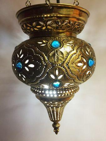 Oriental Ceiling Lamp Ahava - Gold – image 6