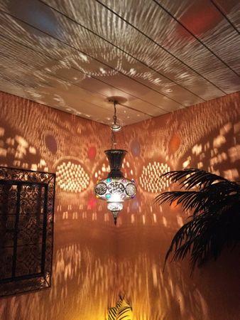 Oriental Brass Lamp Kulus - Silver – image 4