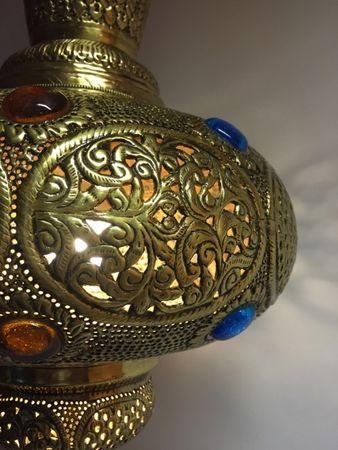 Oriental Brass Lamp Kulus - Gold – image 2