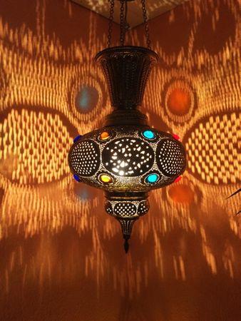 Oriental Brass Lamp Kulus - Gold – image 3