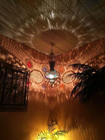 Oriental Brass Lamp Kulus - Gold – image 4