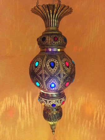 Indian Lamp Gulshan - Gold – image 3