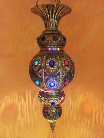 Indian Lamp Gulshan - Gold – image 3