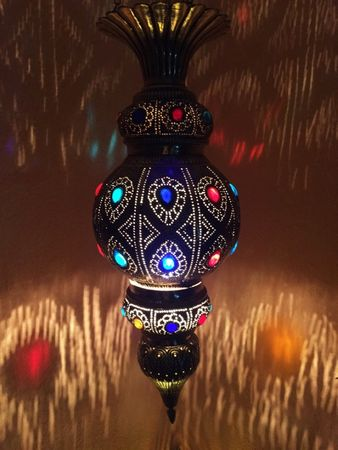 Indian Lamp Gulshan - Gold – image 1