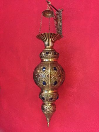 Indian Lamp Gulshan - Gold – image 5