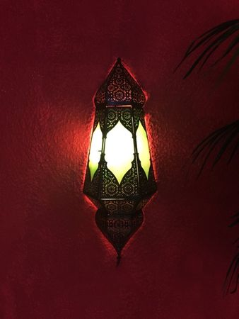 Oriental Wall Light Indira - Green – image 3