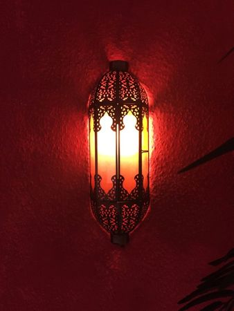 Indian Wall Light Elanur - Orange – image 4