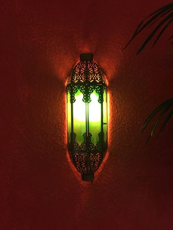 Indian Wall Light Elanur - Green – image 3