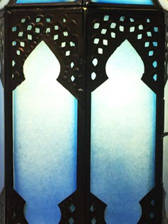 Oriental Wall Light Asha - Blue – image 4