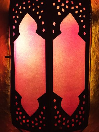Oriental Wall Light Asha - Pink – image 2
