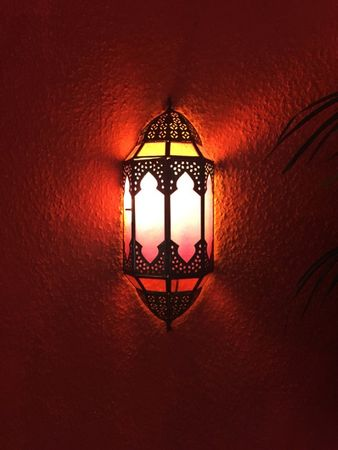 Oriental Wall Light Asha - Pink – image 4
