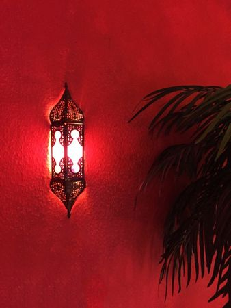 Indian Wall Light Appsara - Pink – image 4