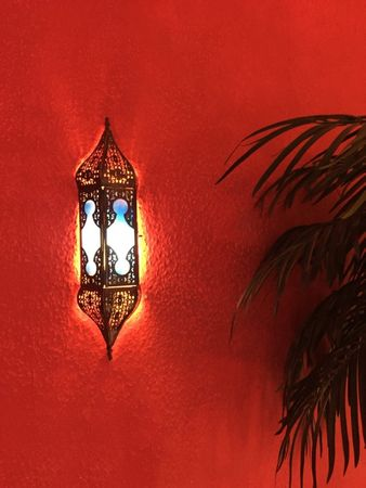 Oriental Wall Light Appsara - Blue – image 4