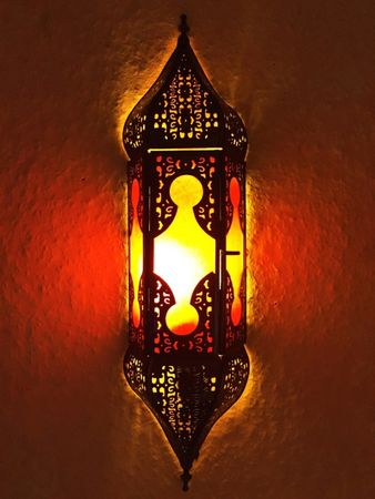 Indian Wall Light Appsara - Red – image 1