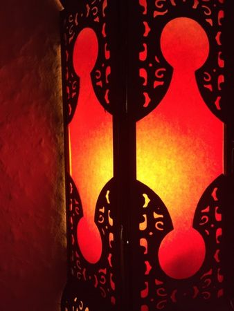Indian Wall Light Appsara - Red – image 2