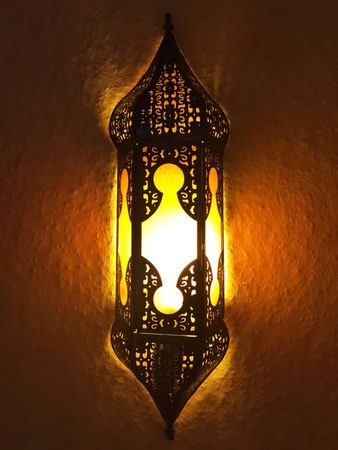 Orient Wall Light Appsara - Orange – image 1