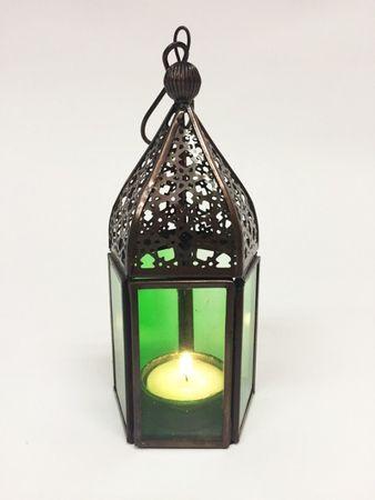 Oriental Lantern Meena - Green – image 1