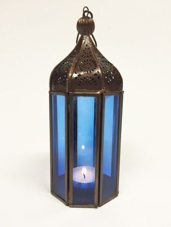 Indian Lantern Jayanti - Blue – image 1