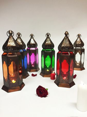 Indian Lantern Bushra - Orange – image 5