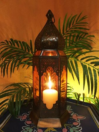 Indian Lantern Bushra - Orange – image 2