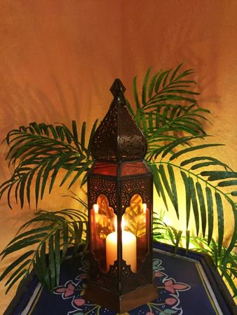 Indian Lantern Bushra - Orange – image 3