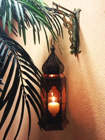 Indian Lantern Bushra - Orange – image 4