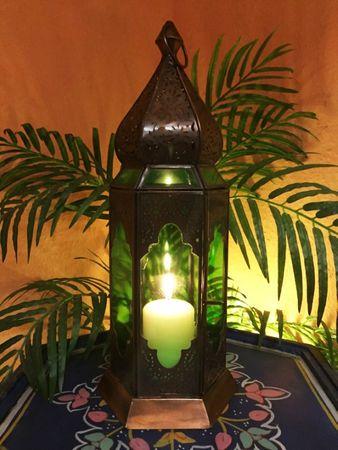 Oriental Lantern Bushra - Green – image 2