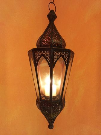 Oriental Hanging Lantern Lalita - Colorless – image 5