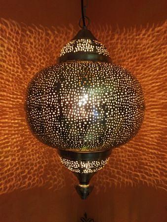 Oriental Ceiling Lamp Damaris - Silver – image 1