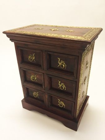 Indian Bedside Table Mohini – image 1