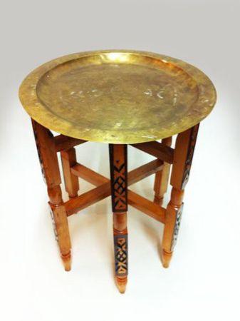Oriental Table Iman - Antique, 40cm – image 1