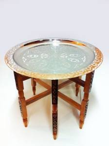 Oriental Table Iman - Silver, 60cm – image 1