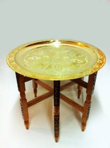 Oriental Table Iman - Gold, 60cm – image 1
