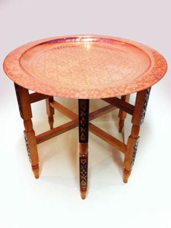 Oriental Table Iman - Copper, 60cm – image 1