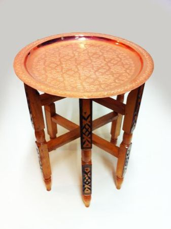 Oriental Table Iman - Copper, 40cm – image 1