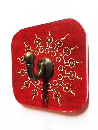 Set of 2 Indiann Wardrobe Hook Satish – image 6