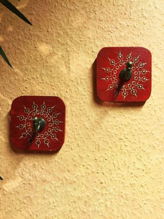 Set of 2 Indiann Wardrobe Hook Satish – image 5