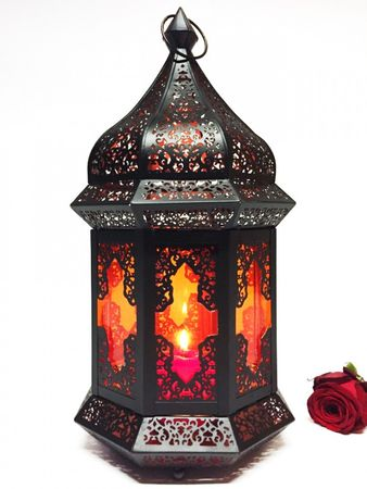 Oriental Indian Lantern Wifaq orange – image 1