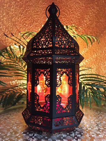 Oriental Indian Lantern Wifaq orange – image 4