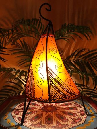 Floor Lamp Kayra - orange 38cm – image 1