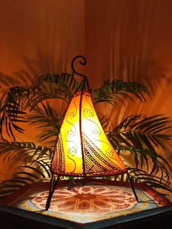 Floor Lamp Kayra - orange 38cm – image 2