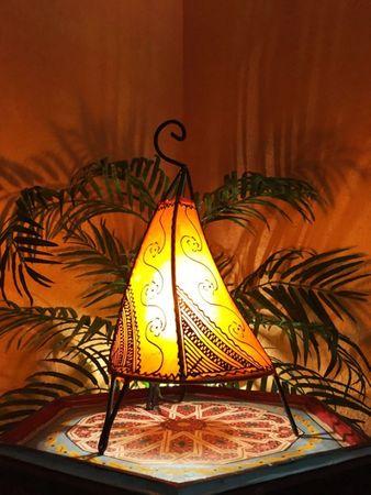 Floor Lamp Kayra - orange 38cm – image 2