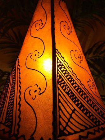 Floor Lamp Kayra - orange 38cm – image 3
