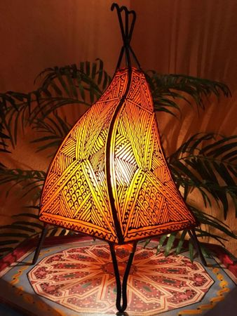 Floor Lamp Emira - orange 43cm – image 1