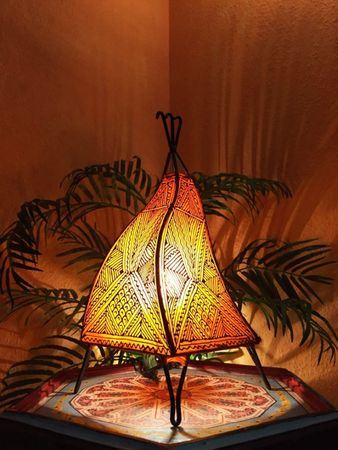 Floor Lamp Emira - orange 43cm – image 3
