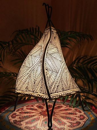 Floor Lamp Emira - nature 43cm – image 1